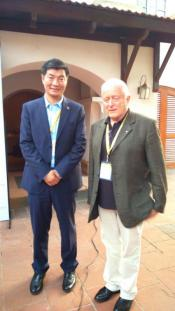 Interaction with Lobsang Sangay, Sikyong of the Tibetan Parliament in Exile