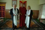His Holiness, 17th Karmapa, ITS directors, Dharamsala