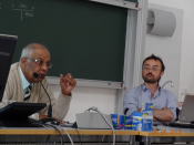 Lecture at University Bozen/Bolzano by Ambassador Ranjit Gupta and Prof. Dr. Roberto Farneti