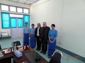 Interaction between ITS directors, Professors and Head of Department of International Relations, Prof. Dr. Chaw Chaw Sein, University of Yangon, Myanmar
