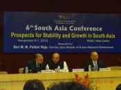 Participation of ITS directors at 6th South Asia Conference, New Delhi