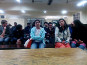 "Lecture on ""Security Challenges in Europe"" by ITS directors and interaction with students at JNU, New Delhi, November 2015"