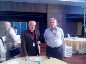 Dr. Yossef Bodansky and Prof. Dr. Klaus Lange at Counter Terrorism Conference, Jaipur, Rajasthan
